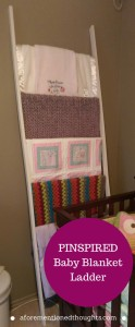 Pinspired Blanket Ladder